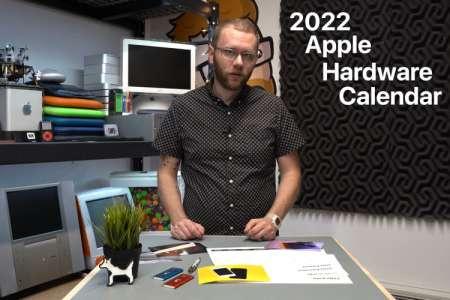 Kickstarter : un calendrier mural 2022 pour les fans de l'histoire matérielle d'Apple