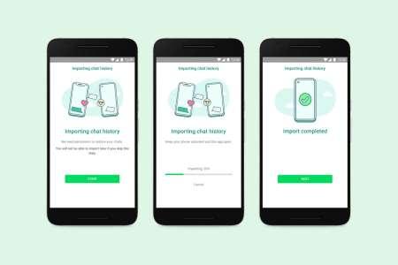 WhatsApp va bientôt permettre de migrer ses conversations entre iOS et Android