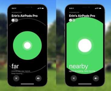 iOS 15 : les AirPods Pro et AirPods Max bientôt connectés au réseau Localiser
