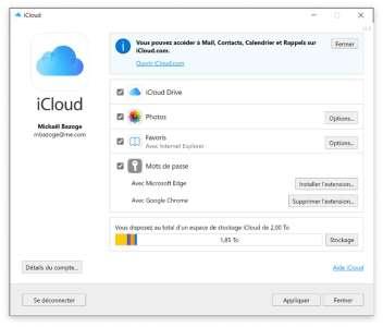 Windows : après Chrome, le trousseau iCloud est désormais compatible avec Edge
