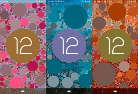 Android 12 : une release candidate avant la version finale