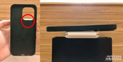 Le chargeur MagSafe Duo à peine compatible avec l'iPhone 13 Pro et son étui
