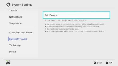 Nintendo : on peut enfin utiliser des AirPods avec la Switch