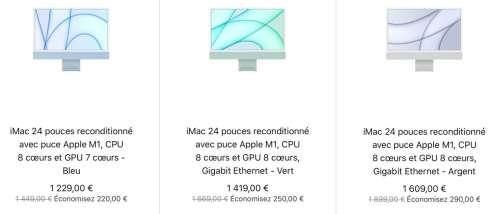 Refurb : iMac 24