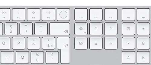 Promo : le Magic Keyboard avec Touch ID et pavé numérique à 164€