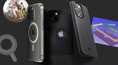 Profitez de votre iPhone 13 sans fil avec les coques et chargeurs Spigen