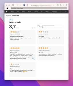 AppStore : on peut enfin dire du mal (ou du bien) des apps préinstallées d'Apple