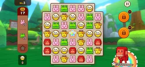 Zookeeper World casse des cubes sur Apple Arcade