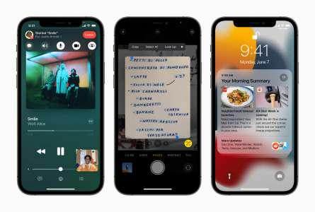 iOS 15, iPadOS 15 et tvOS 15 seront disponibles le 20 septembre!