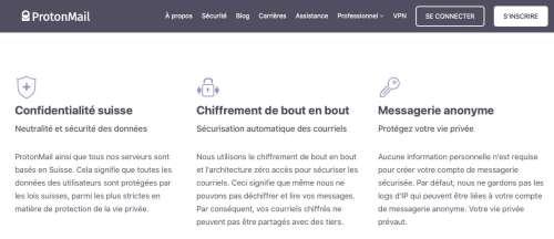 ProtonMail a communiqué l'adresse IP de plusieurs utilisateurs dans le cadre d'une enquête française