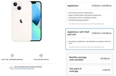 AppleCare+ avec assurance contre le vol disponible en Australie et au Royaume-Uni