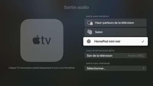 Les développeurs peuvent télécharger la release candidate de tvOS 15
