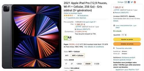 Promo : iPadPro 12,9