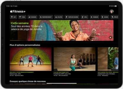 Apple Fitness+ arrive en France et en Suisse