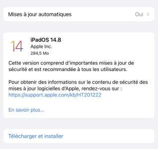 Avant iOS 15, Apple livre iOS 14.8 pour tous!
