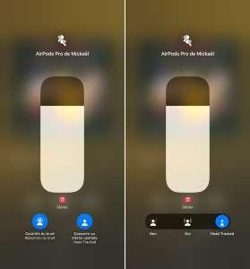 iOS 15.1 : le suivi dynamique de la tête désactivable depuis le centre de contrôle