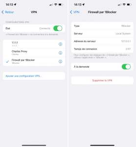 Considéré à tort comme un VPN, 1Blocker a été supprimé de l'AppStore en Chine