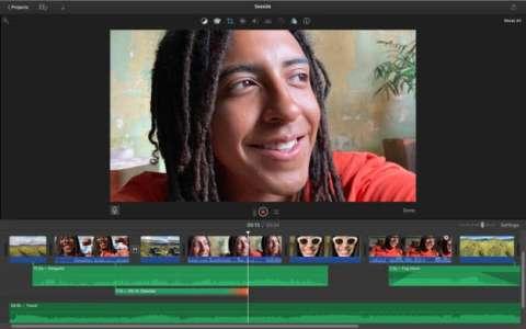 iMovie prend en charge les vidéos en mode Cinématique