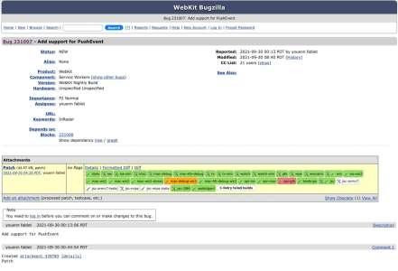 Les développeurs de WebKit préparent le terrain pour les notifications dans les web apps