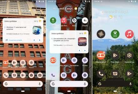 La version finale d'Android 12 (pas encore tout à fait) disponible
