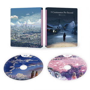 All The Anime : 5 Centimeters Per Second & Voices of a Distant Star et Voyage vers Agartha en steelbook