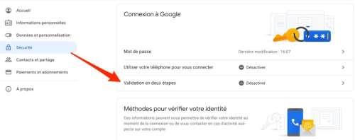 Bonne nouvelle : Google commence à activer automatiquement la double authentification