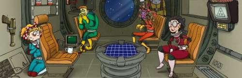 Survivre dans l'espace avec 60 Parsecs!