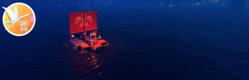 Carnet rose - Make Sail, le plus beau des radeaux