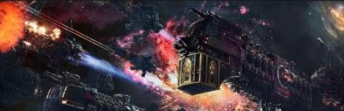Le vaisseau Battlefleet Gothic : Armada 2 prend forme en vidéo
