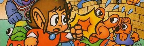 Alex Kidd in Miracle World était à la base un jeu Dragon Ball