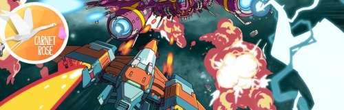 Carnet rose - Rival Megagun ravive l'esprit Twinkle Star Sprites