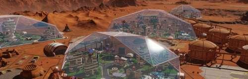 Surviving Mars a bon dôme avec la mise à jour Curiosity