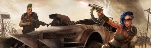 Carnet rose - Le tout jeune Unbroken Studios annonce Fractured Lands, un battle royale motorisé