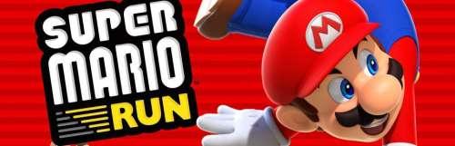 Super Mario Run dépasse les 60 millions de dollars