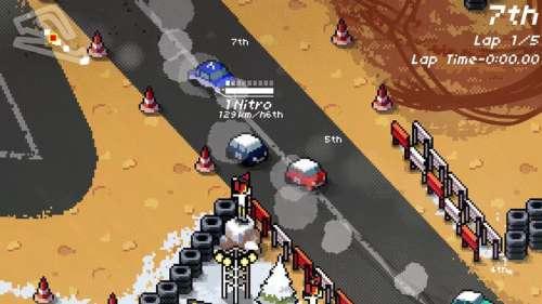 Super Pixel Racers sortira sur PS4 et Xbox One le 31 octobre prochain