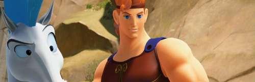 Kingdom Hearts III illustre Hercule et la Cité du Crépuscule
