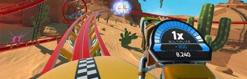 RollerCoaster Tycoon Joyride se fait un rail sur PS4 et PS VR