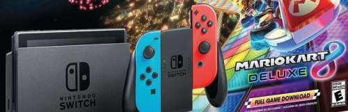 Le pack Switch + Mario Kart 8 Deluxe arrive finalement en Europe