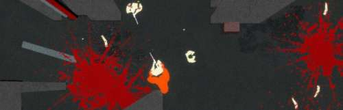 Le jeu de massacre vu de dessus Ape Out sortira le 7 février prochain