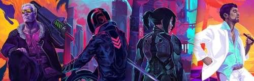 Carnet rose - Hyper Jam, une date de sortie pour le jeu d'action éclairé au néon