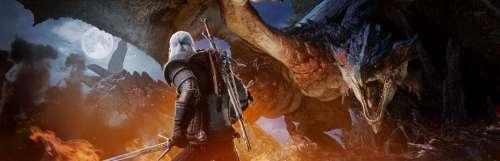 Geralt de Riv s'invite à la chasse le 8 février dans Monster Hunter World