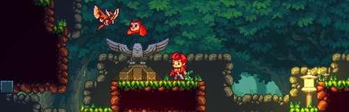 Le platformer Eagle Island fait également son nid sur Switch
