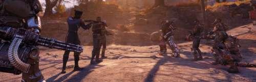 Tout le monde devient hostile dans le mode Survie de Fallout 76