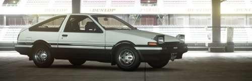 La Toyota Sprinter Trueno d'Initial D débarque dans Gran Turismo Sport