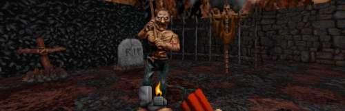 Le remaster de Blood a sorti sa fourche sur les PC modernes