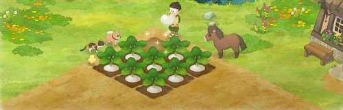 Bandai Namco sème du gameplay pour Doraemon Story of Seasons