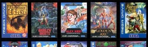 Sega dévoile dix titres supplémentaires pour sa Mega Drive Mini