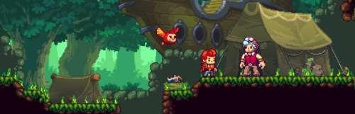 Dans la famille rogue-lite en pixel art, Eagle Island sortira le 12 juillet sur Steam et Switch
