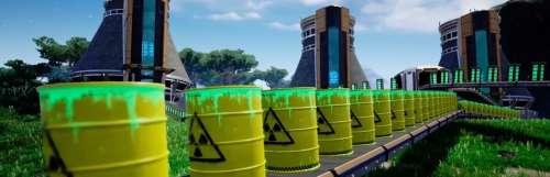 Satisfactory accueille locomotives et centrales nucléaires dans son dernier patch