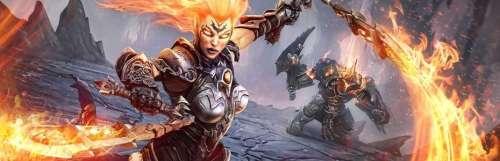 Darksiders III : Fury profite à son tour de l'Armure Abyssale dans le DLC